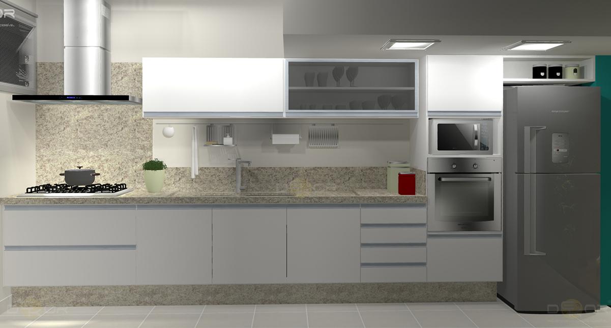 Projeto de cozinha decora o online 11 erika karpuk for Disenador de cocinas online gratis