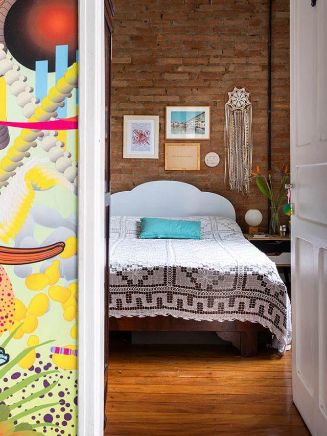 Uma parede de Tijolo Aparente (verdadeira) pra chamar de sua é possível