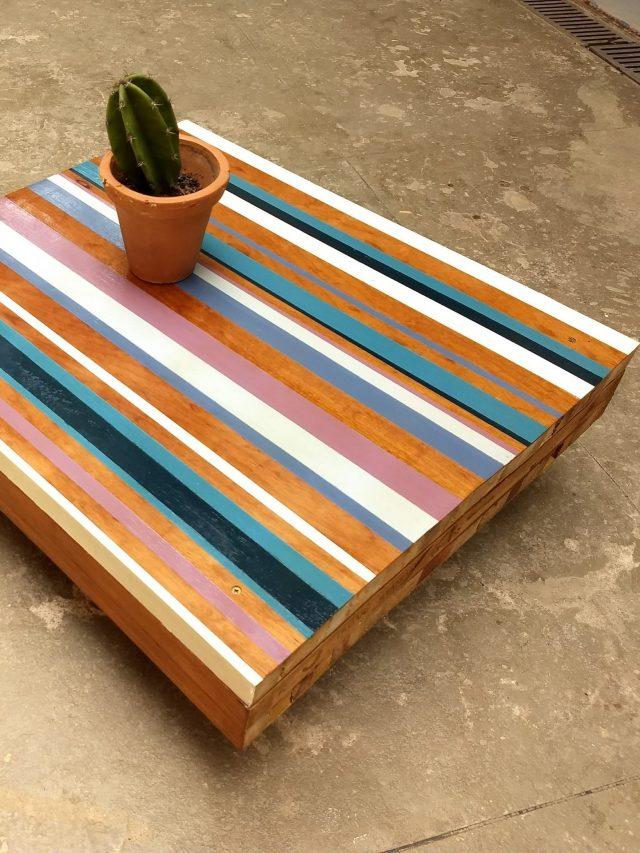 Faça mesas incríveis com portas